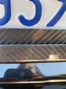 Carbon Fiber Gear Carbon Fiber License Plate Frame - 2 Holes Angled Bottom - Gloss Finish Review