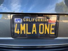 Carbon Fiber Gear TagArmur Carbon Fiber License Plate Frame - Gloss Finish Review