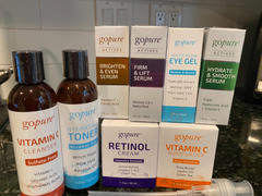 goPure Beauty Complete 8 Product Kit with Actives Serums Review
