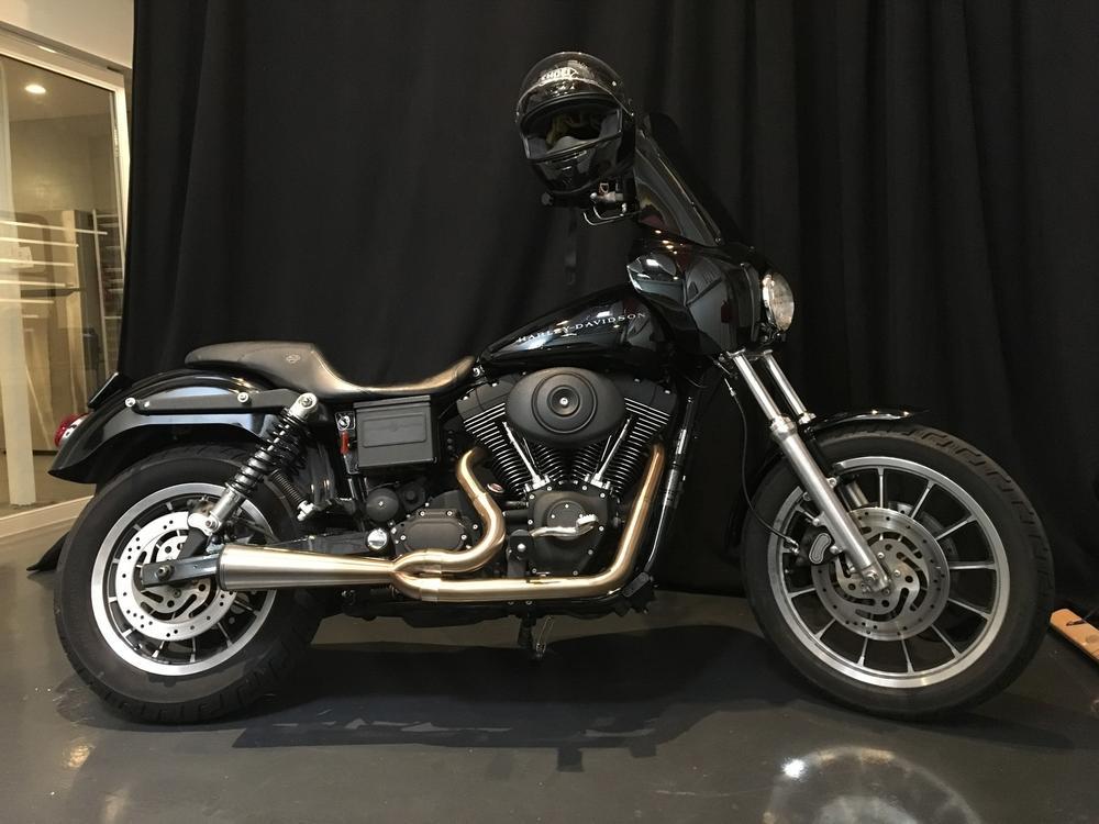 2012-2017 Harley Davidson Dyna Models Danmoto Highwayman Full Exhaust