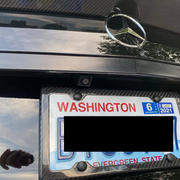 Carbon Fiber Gear Carbon Fiber License Plate Frame - 4 Holes Minimal - Gloss Finish Review