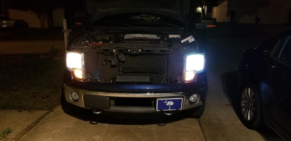 Crystalux Led Headlight Bulbs For Ford F 150 2004 2014