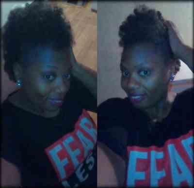 Erica B. verified customer review of Freetress Equal Drawstring Ponytail NATURAL FRO