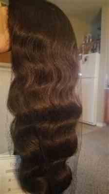 Cyrena Edwards Bell verified customer review of Freetress Equal Invisible L Part Wig LETTY