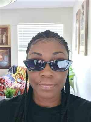 sandra carter verified customer review of Sensationnel Cloud9 Hand Braided 13x7 Part Swiss Lace Wig - FEED IN FULANI CORNROW