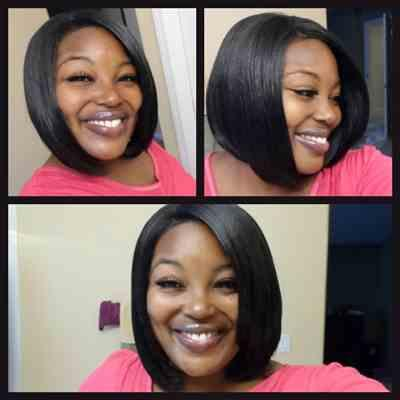 Nika verified customer review of Janet Collection Full Lace Wig FIRST LADY