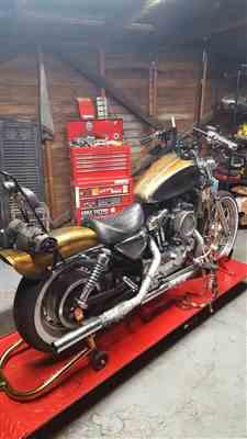Zach S. verified customer review of Fat Bob Rear Fender - 1994 - 2003 Harley Davidson Sportster XL Models