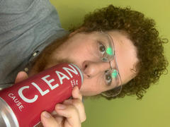 CLEAN Cause Raspberry Organic Sparkling Yerba Mate Review