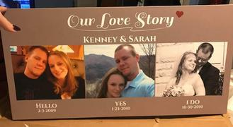 365Canvas Our Love Story Custom 3 Photo Canvas Review