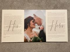 365Canvas Wedding Vows His-Her Photo Canvas Print Review