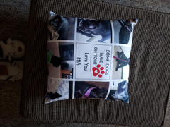 365Canvas Some Dogs Leave Paw Prints On Your Heart - Pet Photo Collage Pillow Review