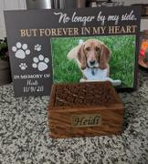 365Canvas No Longer by My Side - Pet Memorial - Custom Photo Canvas Print Review