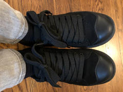 Simple Shoes  Retro 91 Sneaker - Triple Black Review