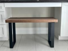 Artisan Born Handmade Solid Black Walnut Bench Review