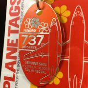 PlaneTags Custom ALOHA Airlines Boeing 737 PlaneTag Tail# N823AL Review