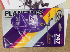 PlaneTags Boeing Thai Airways 747 PlaneTag Tail #HS-TGM Review