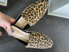 Augustine Brand Veronica Slide Caramel Leopard Review