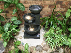 Fountainland Carmen 3 Tier Water Feature w/ LED Lights - 60cm Review