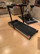 Sunny Health and Fitness Space Saving Treadmill, Motorized, Low Profile & Slim Folding Review