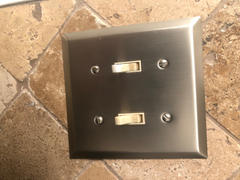 Wallplate Warehouse Century Brushed Nickel Steel - 2 Toggle Wallplate Review