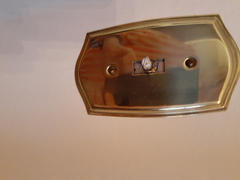 Wallplate Warehouse Polished Brass Cast - Dimmer Knob Review