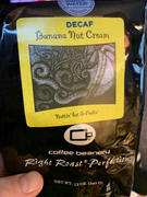 Coffee Beanery Banana Nut Cream Swiss Water Process Decaf Flavored Coffee Review