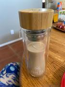 Your Tea International Glass Tumbler w/ Bamboo Lid Review