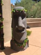 XoticBrands Home Decor Giant Easter Island Head Review