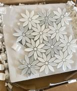 Tile Club Eastern White and Bardiglio Flowers Review