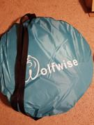 Wolfwise WolfWise AquaBreeze A10 Instant Pop up Beach Tent Blue Review