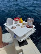 Docktail Bar The Docktail Boat Table Caddy plus Custom Bait Table with All Angle Adjustable Rod Holder Mount Review