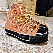 Lace Lab Gold Luxury Leather Laces - Gunmetal Plated Review