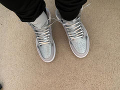 Lace Lab Silver Luxury Leather Laces - Silver Plated Review