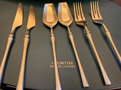 Delicors Gold Roman Pillar Stainless Steel Cutlery Set Review