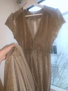 Baltic Born Athena Gold Pleated Maxi Dress Review