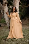 Baltic Born Lydia Mustard Maxi Dress Review