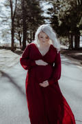 Baltic Born Lydia Burgundy Maxi Dress Review