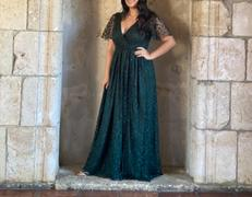 Baltic Born Marseille Green Embossed Maxi Dress Review