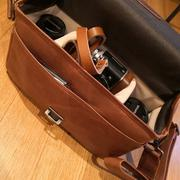 MegaGear Store MegaGear Torres Top Grain Leather Camera Messenger Bag for Mirrorless, Instant and DSLR Cameras Review