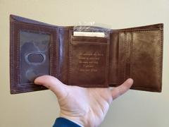 Swanky Badger Personalized Trifold Wallet: Classic Review