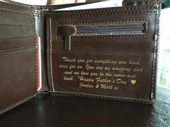 Swanky Badger Personalized Wallet: Circle Review