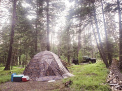 Russian-Bear.Market All-Season Premium Outfitter Tent with Stove Jack UP-5. Comfort for 3-8 People. Review