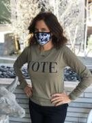 YES AND Anna Vote Long Sleeve Tee Review