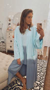 YES AND Kelly Dip Dye Wrap Robe Review