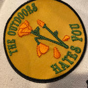 EspiLane California Poppy Outdoors Hates You Patch Review