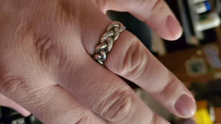 Mirzslot Harry Dresden's Braided Force Ring Review