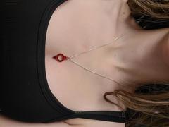 Badali juweliersware Red Society ketting - silwer resensie