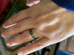 Badali nakit po mjeri od starijeg prstena Futhark Rune prsten sa dragim kamenjem