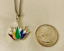 Mirzslot PRIDE Lotus Tattoo Necklace or Pin Review