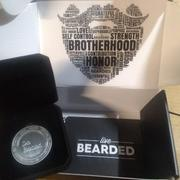 Live Bearded Challenge Coin - Silver Review